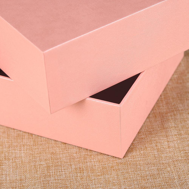 Manufacturers Direct Gift Box Custom World Cover Packaging Gift Box Production Square Color Box