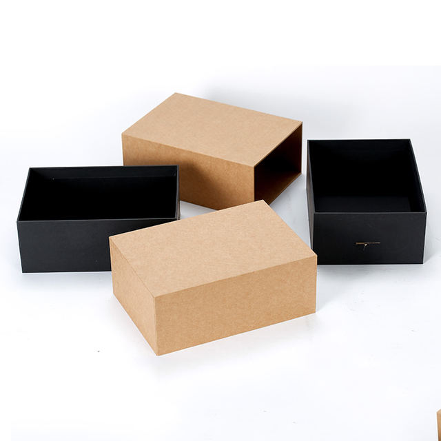 Wholesale Custom Designed Kraft Paper Drawer Products Paper Packaging Gift Box