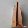 Customized Thicken Kraft Paper Bag With Handle Hole For Foods On Taobao