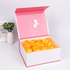 Wholesale Rigid Magnetic Lid Packaging Box With Sponge And Satin Silk Insert For Wine