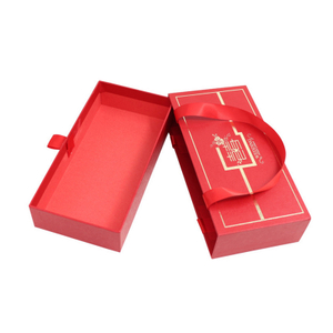 Customized Wedding Gift Packaging box, Recyclable Paper Cardboard Box With Bag Set