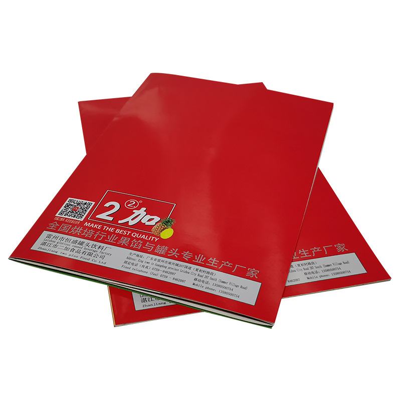 Printer Embossed Brochure Paper Fashionable Support Flyer Brochure Design Printing