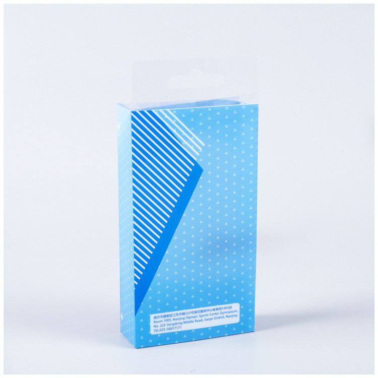 High quality transparent pvc box packaging for insoles