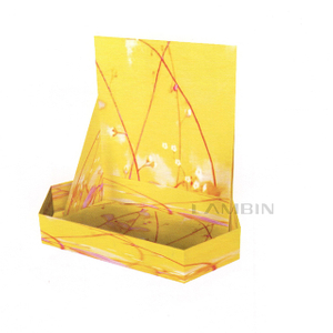 Corrugated display packaging box