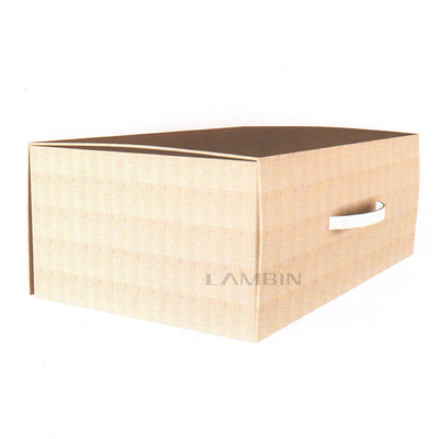 paper box with a handle