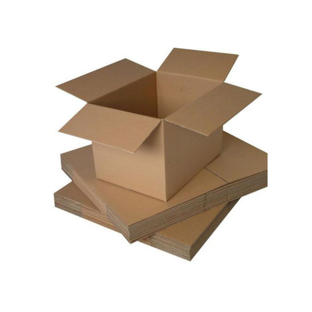 Disposable Recycle Flat Corrugate Carton Packaging Box