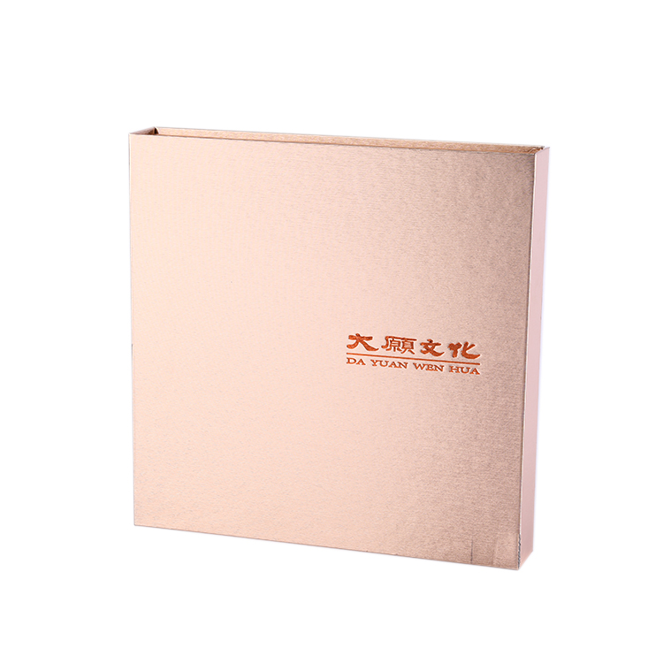 Custom Manufacturer gold box paper,paper box scarf with lid