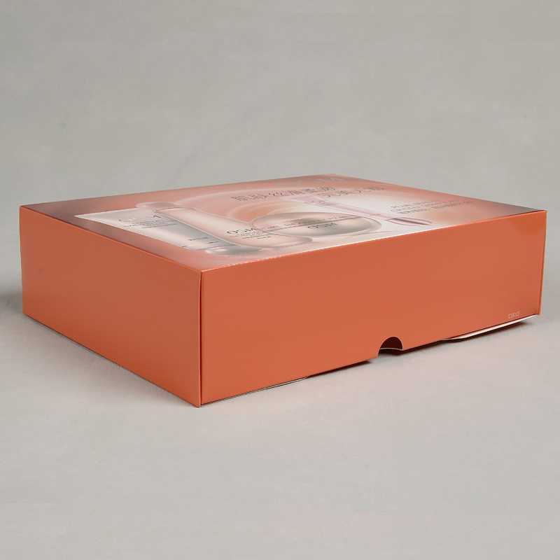 Combination Cosmetics Custom Printed Makeup Paper Box For Facial Mask