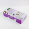 OEM printing logo clear and square transparent plastic box for bra