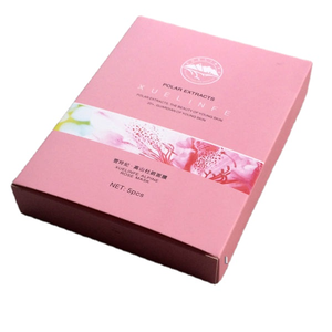 Customize Printed Eco-friendly Packaging Box For Cosmetics Facial Masks