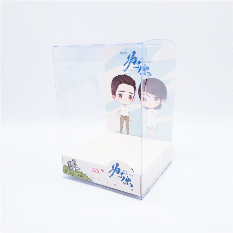 China manufacture plastic pp display box plastic clear packaging box OEM service