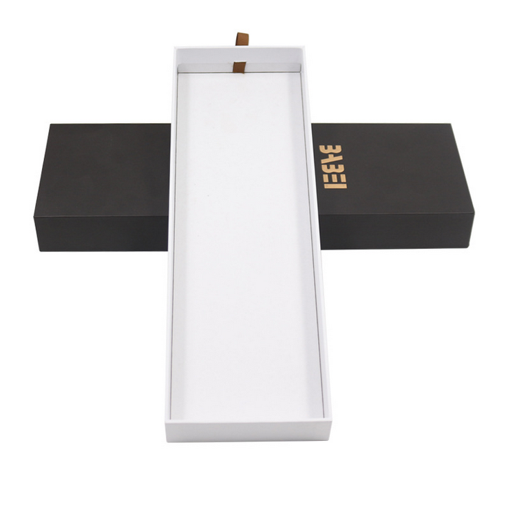 2021 Customized Tie Drawer box Packaging ,Recyclable Paper Boxes With Logo Printing