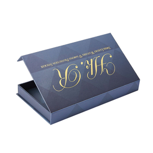 High end Printed logo small paper eyelash box,art paper boxes packaging