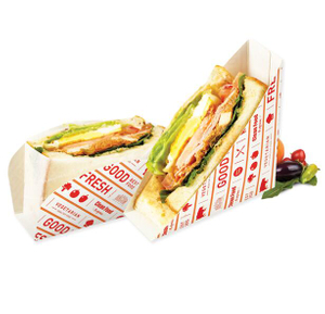 2021 Hot Sale Custom Disposable Dessert Food Sandwich Box Packaging
