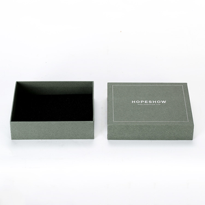 High-quality Luxury Customized Products Cardboard Packaging Boxes With Silver Foil Print For Gift