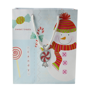 Best Quality printed paper gift bag christmas,paper gift bag with glossi finish