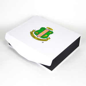 Custom Printed Luxury Paper Cardboard Folding Boxes Packaging Black Magnetic Gift Box