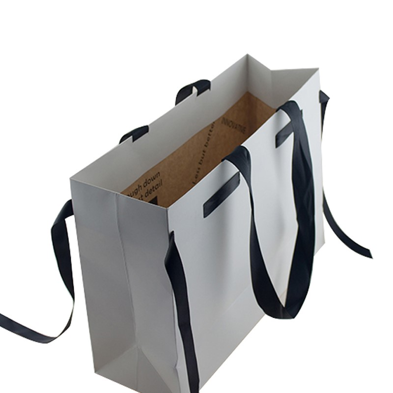 High Quality Double Sides Print Custom Paper Bag