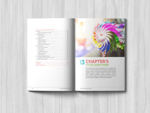 Full Color Printing Advertising Brochure Leaflet Printing And Booklet Flyer Customized