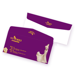 Custom DlY Size Invitation Card Paper Window Envelope Personalize Wallet Envelope Printing