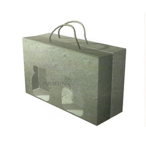 takeaway food paper box with handle