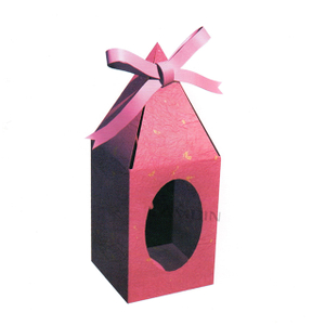 candy box with round window