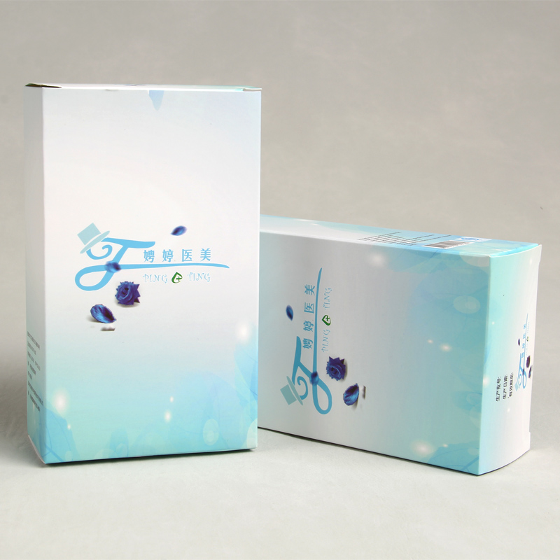Custom Printed Eco-friendly Packaging Box For Cosmetics Facial Masks Paper Board Packaging Box For Skin Pharmaceutical Products