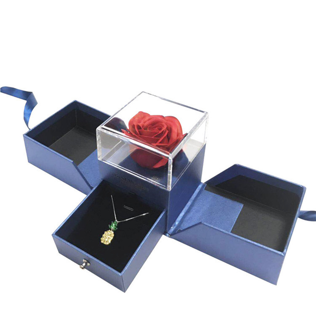 China factory wholesale gift custom logo oem luxury flower box