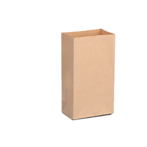 Wholesale kraft paper food packaging bag food packaging bag baked desserts paper packaging bag custom printing