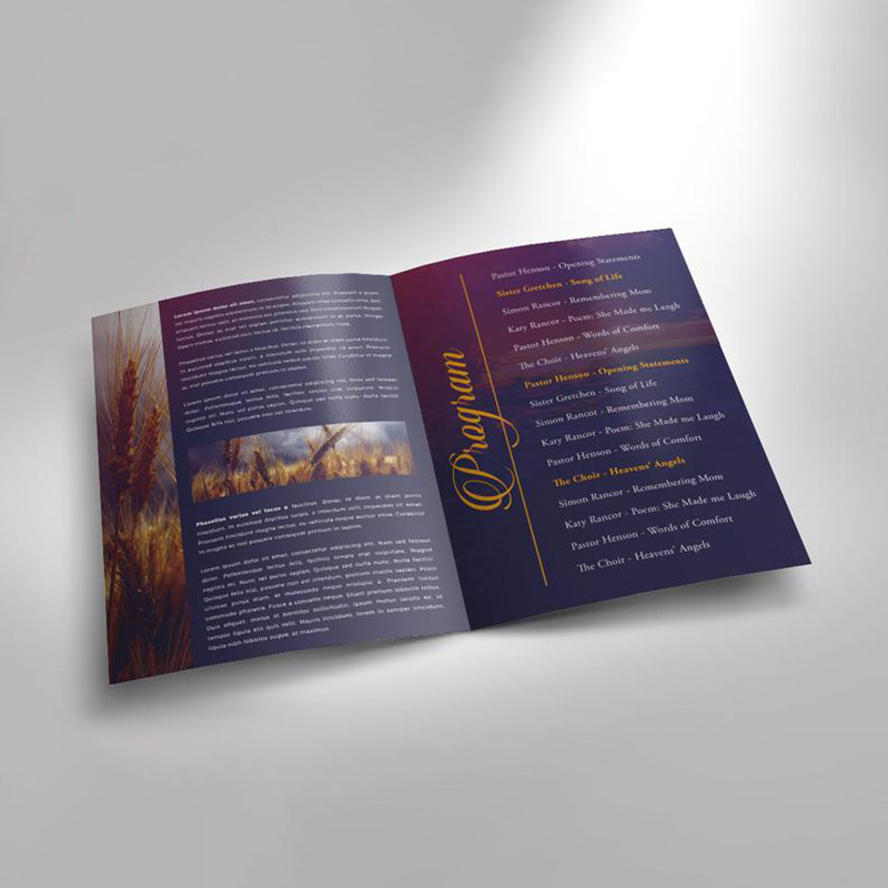 Cheap Customized Design Products Flyers Printing Advertising Service