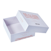 Custom white color gift paper carton box types,paper for rigid box