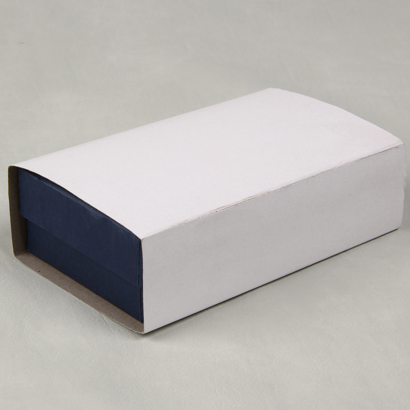 Beautiful And Generous Deep Blue Package Case With Uv Coated For Decoration Bow Tie