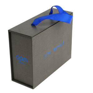 Custom made folding magnet clothing carton printing tea candy cosmetics kraft paper packaging gift box